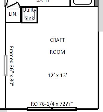 160724 Craft room floor plan