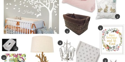 Nursery design for Marcie Jane