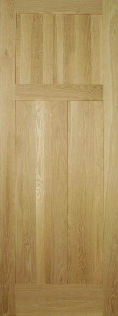 Allegheny Wood Works door - three panel craftsman