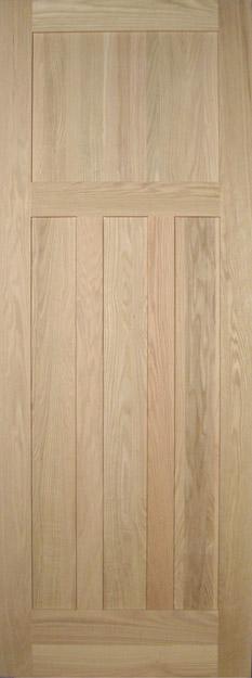 Allegheny Wood Works four-panel craftsman door