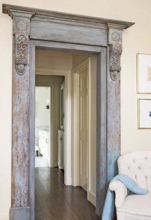 Antique Door Frame - Traditional Home Magazine