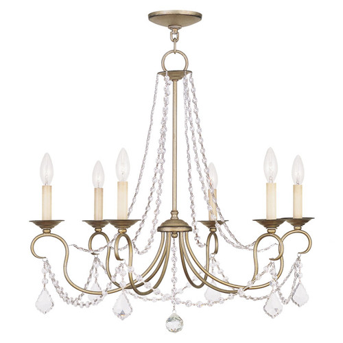Dining Room Chandelier | AngieBuildsAHouse.com