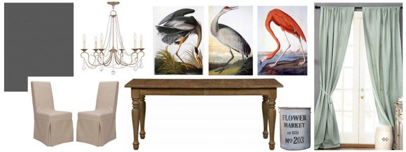 Dining Room Inspiration Board Design