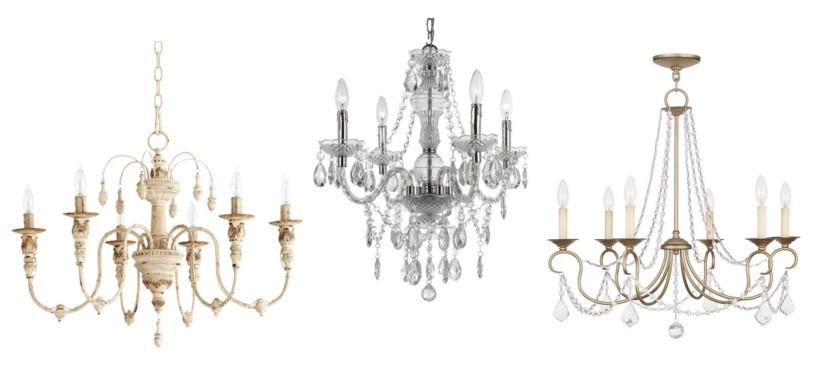 Chandeliers | Rustic Glam, Farmhouse Style | AngieBuildsAHouse.com