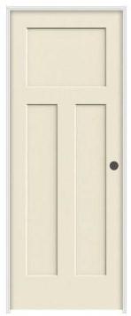 Jeld-Wen Craftsman door primed white from Home Depot