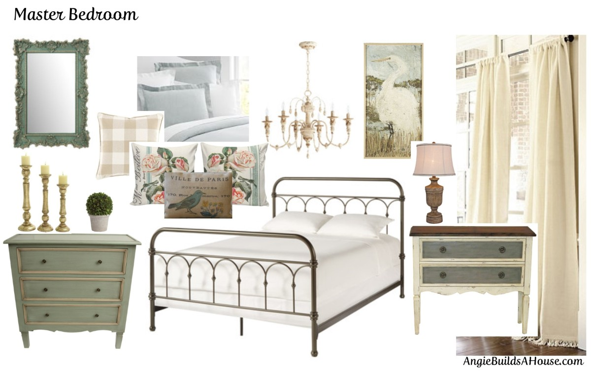 Master Bedroom Design Board 101 List 35 Angie Builds A House