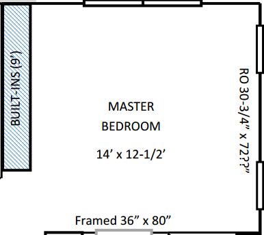 Master Bedroom Floor Plan | Angie Builds a House