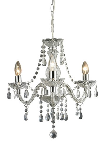 Anya Mini Chandelier $103 {master closet & dressing room / office nook area} | AngieBuildsAHouse.com