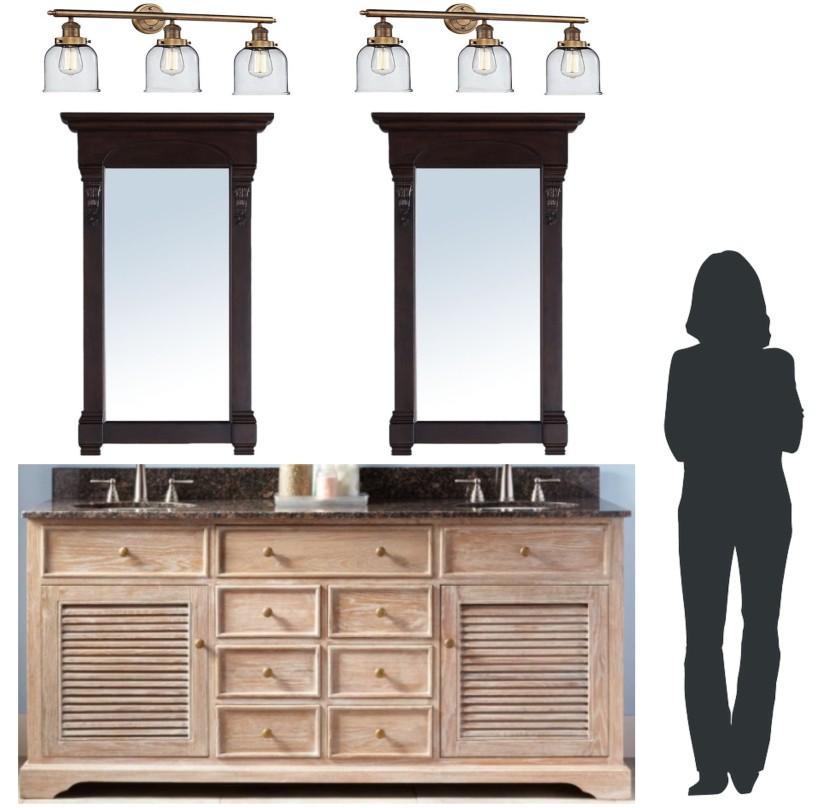 Bathroom Design Scale Test 1