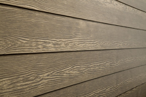 Fiber cement siding, wood-look, river rock | Angie Builds a House