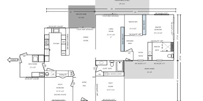 Cottage Floor Plan | Angie Builds a House