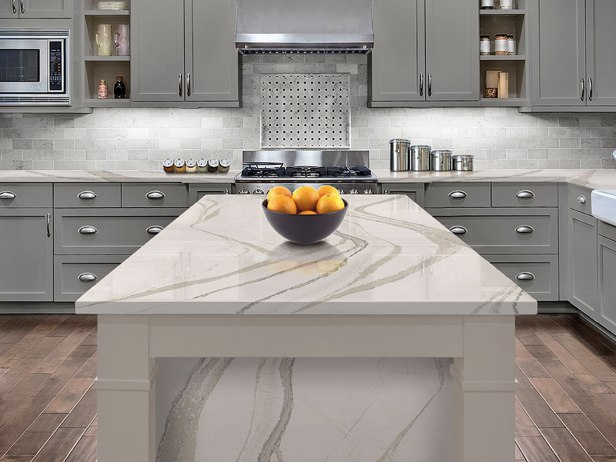 Brittanicca Quartz Countertop by Cambria