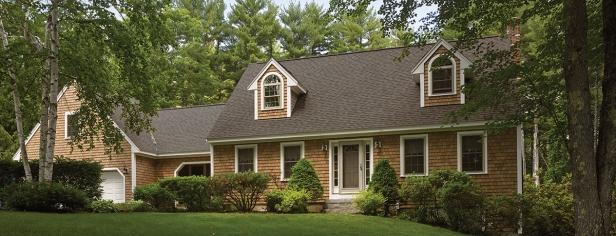 "Certainteed Cedar Impressions individual 5"" sawmill shingles | AngieBuildsAHouse.com"