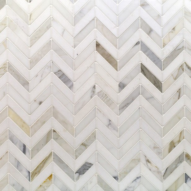 Chevron Marble Tile