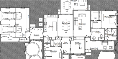 Cottage Floor Plan | AngieBuildsAHouse.com