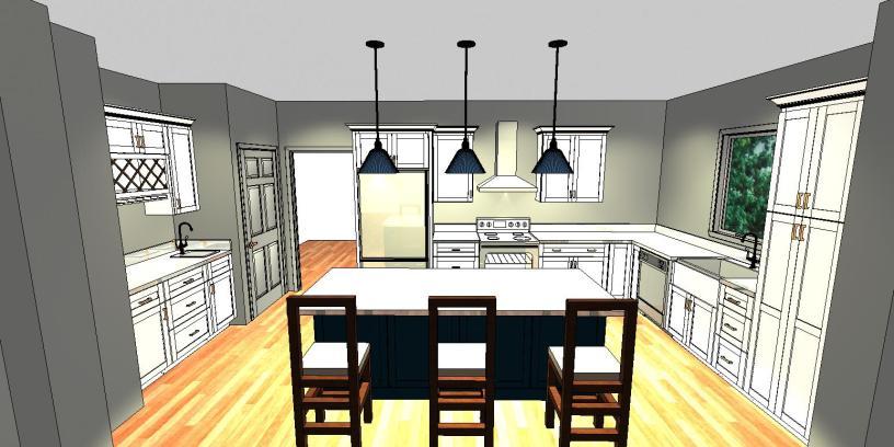Kitchen Design Plan | AngieBuildsAHouse.com