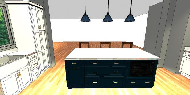 Kitchen Design Plan | AngieBuildsAHouse.com