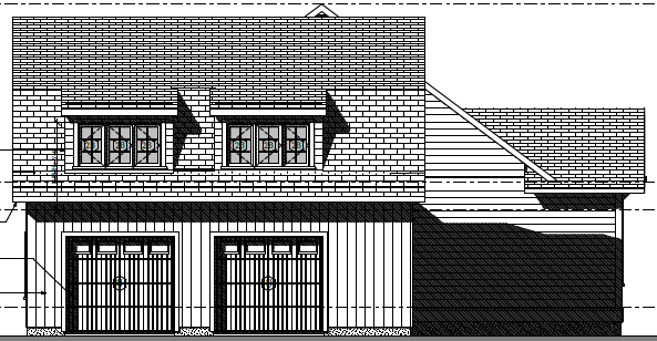 Cottage Curb Appeal - exterior side elevation | AngieBuildsAHouse.com